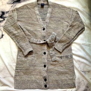 GAP Maternity Knit Long Sweater Jacket